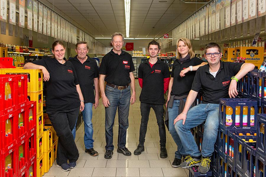 Team Getränkemarkt in Babenhausen